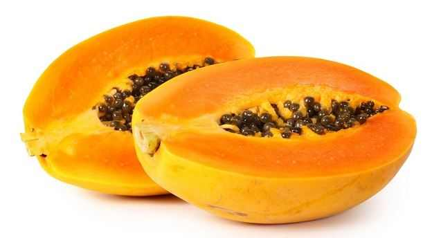 Papaya fade black patches on face