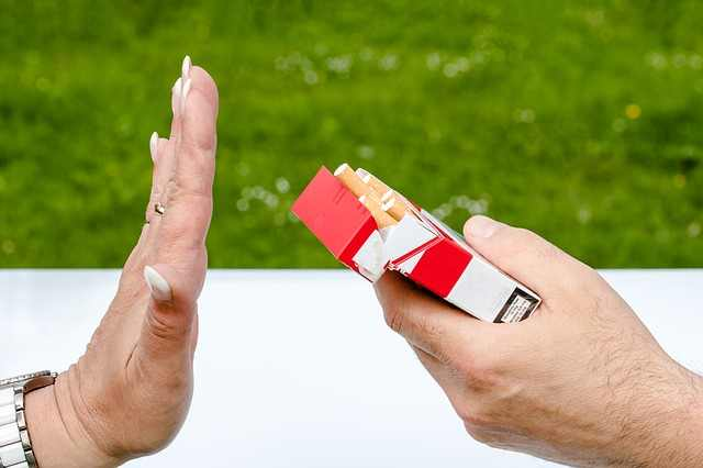 Smoking can be a cause of Purple Nail Beds